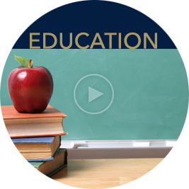 Link to education page with videos