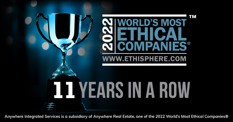 Ethisphere award 8 years in a row graphic